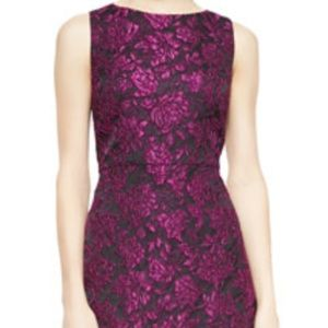 Alice and Olivia Eli Floral Jacquard Dress Size 4